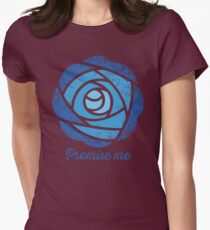 Promise Me Womens Fitted T-Shirt