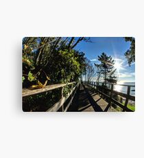 Langmoor-Lister Bridge Canvas Print
