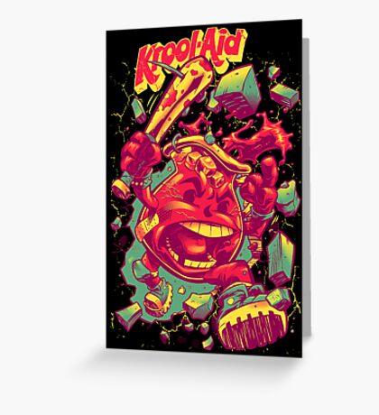 KROOL-AID Greeting Card