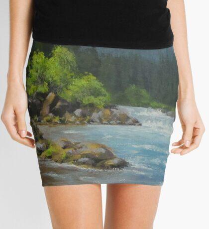 Dancing River Mini Skirt