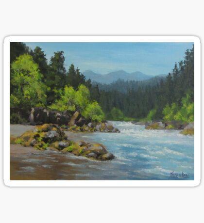 Dancing River Sticker