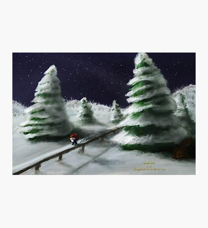 Tomte & Friends Winter Night Photographic Print