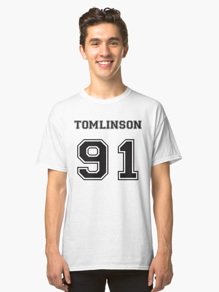 TOMLINSON '91 Classic T-Shirt Front