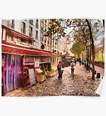 Rue Coquillière, Paris Poster