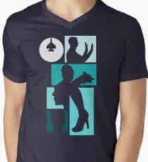 Title Archer (blue) Men's V-Neck T-Shirt