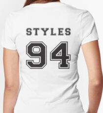 STYLES '94 Women's Fitted V-Neck T-Shirt