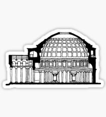 Pantheon Rome  Sticker