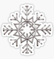 Snow Flake Sticker