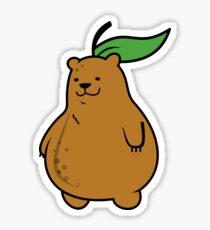 Pear Bear Sticker