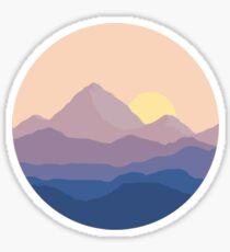 Pegatina Chill Mountain Horizon