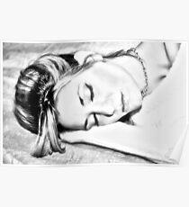 """Sketching Nina"" Poster"
