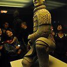 An Officer Of The Terracotta Warriors, Xi'an, China. 210 BC by Ralph de Zilva