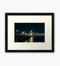 Brighton Jetty Framed Print