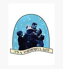 It's A Wonderful Life Photographic Print