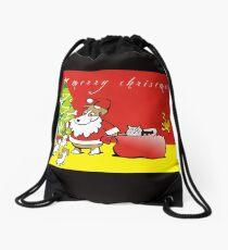 JR Xmas Drawstring Bag