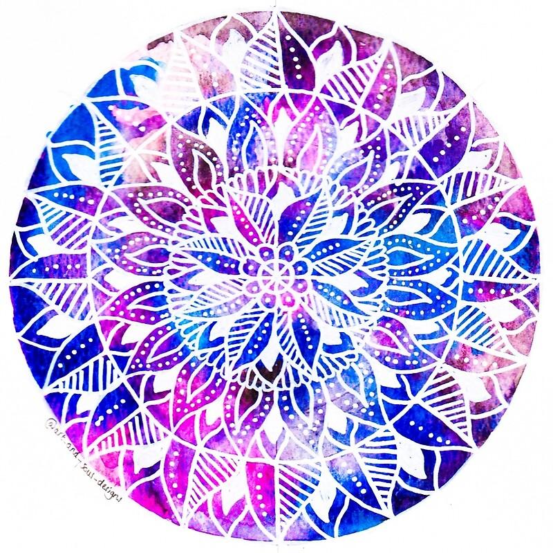 """Galaxy Mandala design."" by art-and-soul | Redbubble"