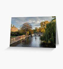 Cambridge Greeting Card