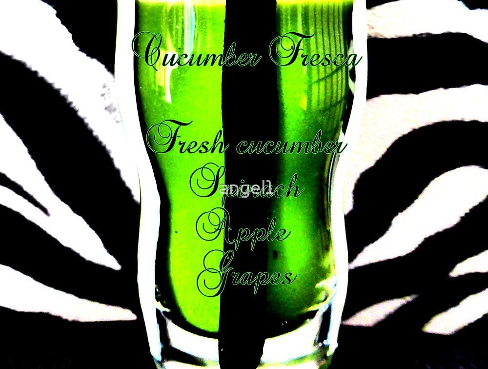 Cucumber Aqua Fresca by ©The Creative  Minds