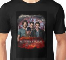 Supernatural Family dont end with blood 3  Unisex T-Shirt
