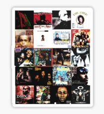 90s HIP HOP HISTORY Sticker