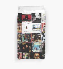 90s HIP HOP HISTORY Duvet Cover