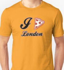 I Love Pizza London Unisex T-Shirt