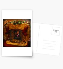 Warmest Christmas Greetings Postcards