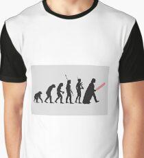 THE STAR WARS EVOLUTION Graphic T-Shirt