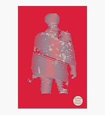 Veteran Print Project Hero Silhouette USMC  Photographic Print