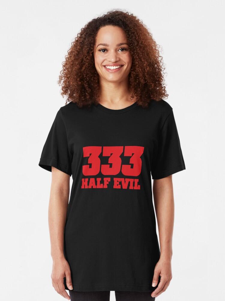 Alternate view of 333 Half Evil Slim Fit T-Shirt