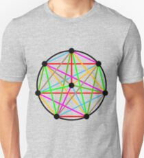 8 Pointed Complete Graph T-Shirt