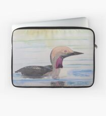 Black-throated Diver Laptop Sleeve