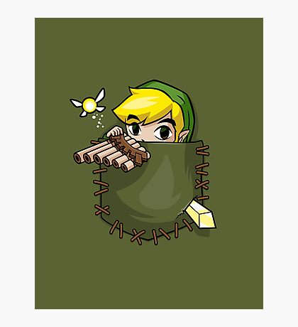 Pocket Link Photographic Print