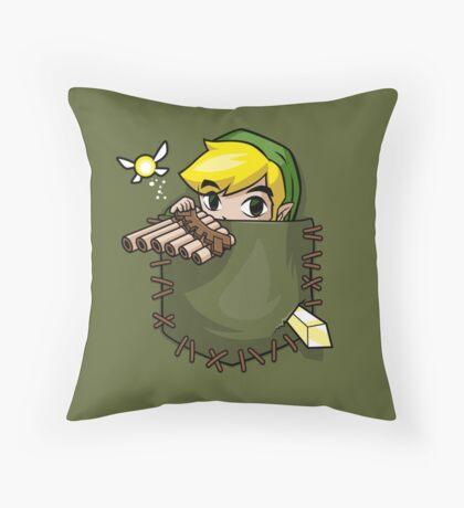 Pocket Link Throw Pillow