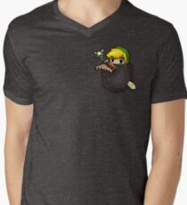 Pocket Link Men's V-Neck T-Shirt