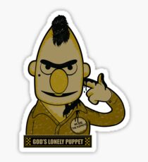 God's Lonely Puppet Sticker