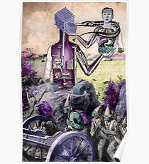 Invasion of the Pre/Raphaelites. Poster