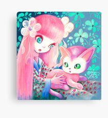 There, There, Kitty Canvas Print
