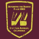 Defending the Barrio by Frakk Geronimo