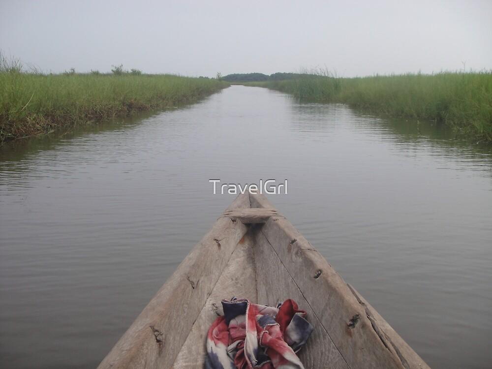 Boat in Ghana by TravelGrl