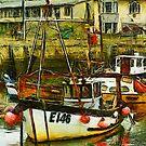 West Bay harbour, Dorset, UK  by David Carton
