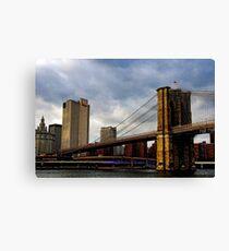 Lienzo Across the Brooklyn Bridge