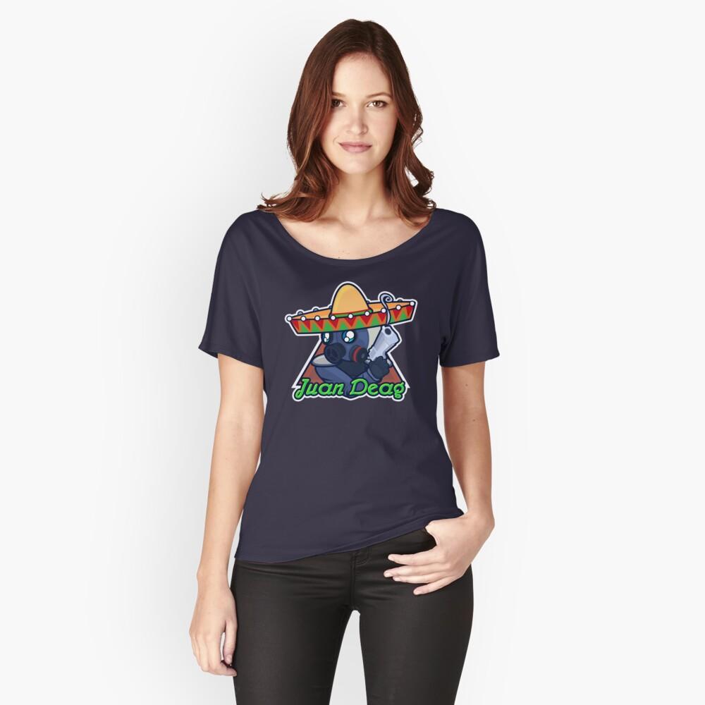Juan Deag - Contraterrorista Camiseta ancha