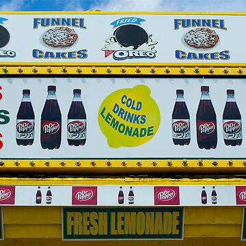 Cold Drinks Lemonade by srwdesign