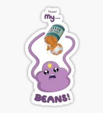 My...BEANS! Sticker