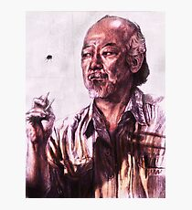 Mr. Miyagi from Karate Kid Photographic Print