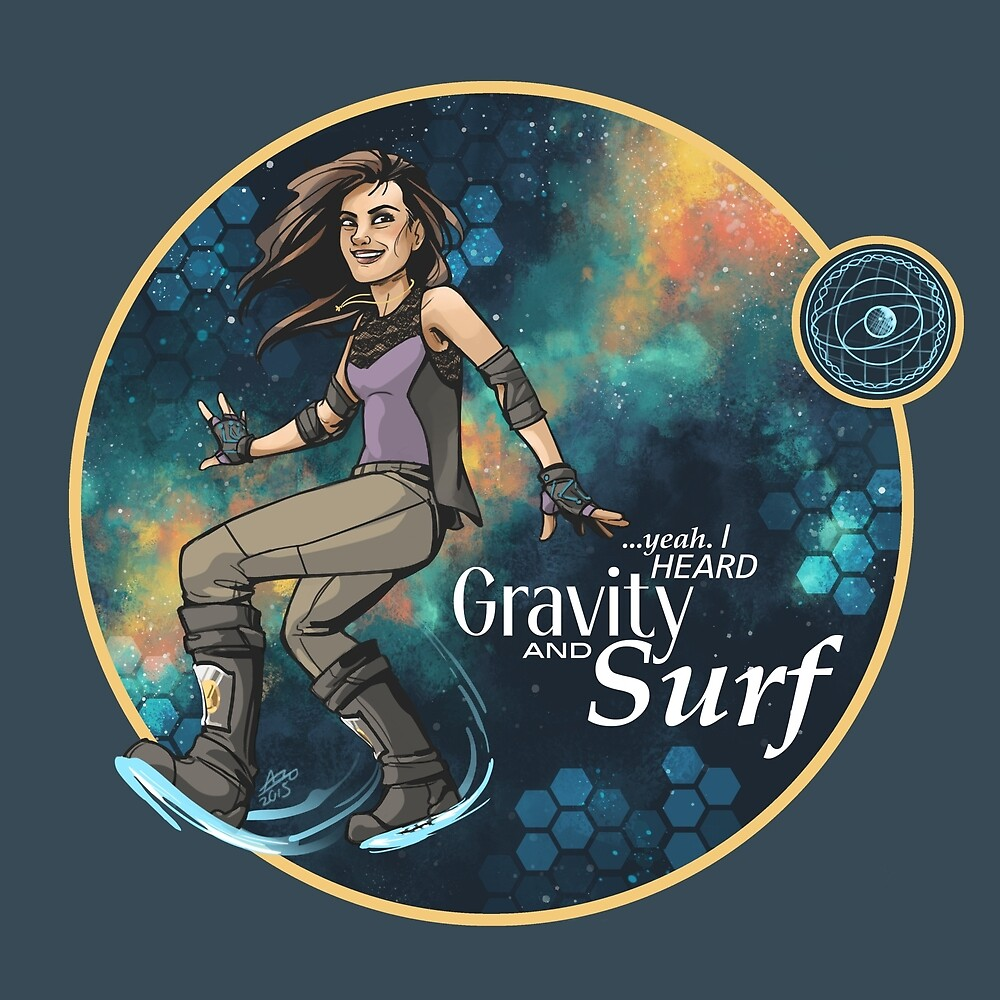 Gravity and Surf by alicianpadron