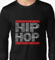 Hip Hop in Black Long Sleeve T-Shirt