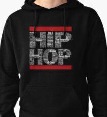 Hip Hop in Black Pullover Hoodie