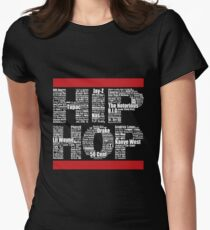 Hip Hop in Black Women's Fitted T-Shirt